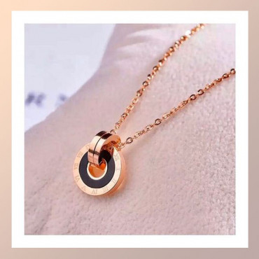 Rose Gold Coloured Necklace